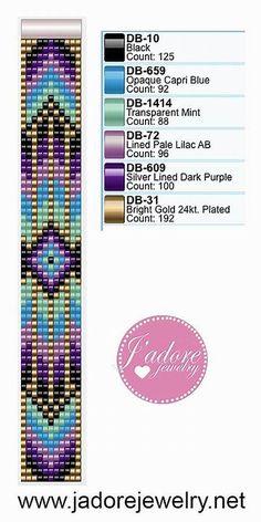 Easy Bead Loom Patterns için resim sonucu