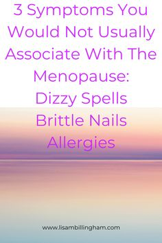 Click Here To Read My Blog 3 Positive Ways To Reduce Stress, Anxiety Or Depression Whilst Coming To Terms With A Hysterectomy Induced Menopause. Dizzy Spells, Ways To Reduce Stress, Menopause, Allergies, Depression, Anxiety, Lisa, About Me Blog, Positivity