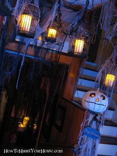 Mod Vintage Life: Favorite Halloween Things candles in birdcages