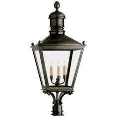 Circa Lighting offers a vast array of light fixtures including pendant lighting and chandeliers. Premier resource of designer lighting for Visual Comfort. Exterior Light Fixtures, Exterior Lighting, Outdoor Post Lights, Outdoor Lighting, Fence Lighting, Visual Comfort Lighting, Lantern Post, Circa Lighting, Candelabra Bulbs