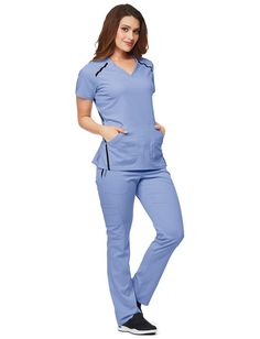 Scrubs, Nursing Uniforms, and Medical Scrubs at Uniform Advantage Dental Scrubs, Medical Scrubs, Scrubs Outfit, Scrubs Uniform, Scrub Suit Design, Doctor Scrubs, Uniform Advantage, Womens Scrubs, Scrub Tops
