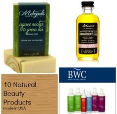 Natural Beauty Products, Made in USA