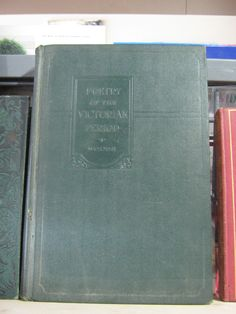 Poetry of the Victorian Period - 1930 - $20