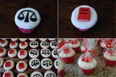 Bolo Bacana: Cupcakes de Formatura - Direito