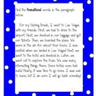Students read the paragraph and identify the transitional words. I did this activity on my Interactive White Board with small groups. Writing Lessons, Writing Resources, Teaching Writing, Teaching Tools, Teaching English, Literacy Cafe, 6th Grade Writing, Teacher Sites, Creative Writing Ideas
