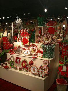 Christmas Display from our Holiday Open House 2013! #burtonandburton #christmas