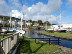 Crinan Canal - canal basin, Ardrishaig, Argyll
