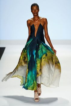 Anya Ayoung Chee- Project Runway Finale winner; I  in love with this.