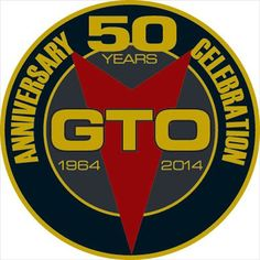 GTO 50th Anniversary Logo