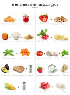 10 More Metabolism Boosting Snack Ideas | http://helloglow.co/metabolism-boosting-snack-ideas/