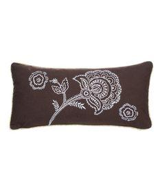 Look what I found on #zulily! Dancing Flower Throw Pillow #zulilyfinds