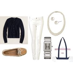 Cape Cod, created by #sarah328 on #polyvore. #fashion #style J.Crew Vineyard Vines