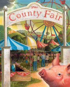 Summertime County Fair from Robert Crawford
