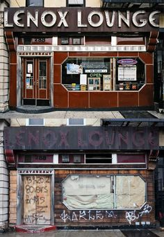 Lenox Lounge (1939-2012), Harlem, NYC. So sad.