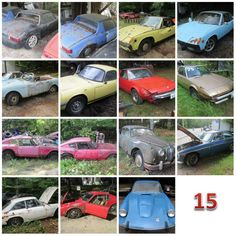 15 Foreign Cars In New Hampshire, No Reserves, More To Come - http://barnfinds.com/15-foreign-cars-in-new-hampshire-no-reserves-more-to-come/