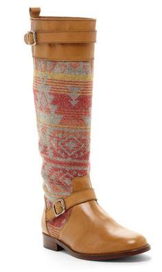 Southwestern Riding Boots / candela