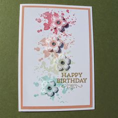 Gorgeous Grunge and Petite Petals stamp sets love this design #stampinup