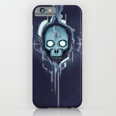 Cyberspace Gothic iPhone & iPod Case