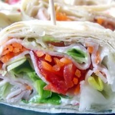 Easy Snack Wraps Allrecipes.com  A flavored mayo would be a great addition to this quick grab and go lunch or dinner.
