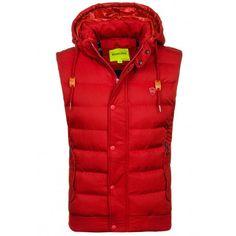 Prechodné vesty pre chlapov bordovej farby - fashionday.eu Winter Jackets, Fashion, Winter Coats, Moda, Winter Vest Outfits, Fashion Styles, Fashion Illustrations