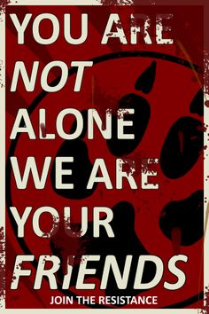 Furry Propaganda : You are not alone Type A by WeAreTheW.deviantart.com on @deviantART