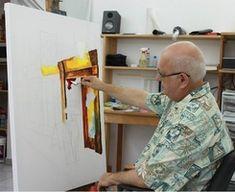 Full palette knife lessons by Leonid Afremov. http://www.paletteknife.net/
