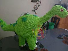 Piñata de Dinosaurio cuello largo.