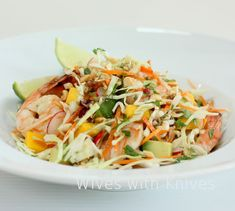 The most frequently viewed recipe on my blog by a mile is Thai Chicken Slaw, an Asian style coleslaw recipe that I posted almost 2 years ago. Its fresh, crunchy and full of flavor and I make it often. It was on my menu list for the holiday weekend, but I forgot chicken when I [Read More]