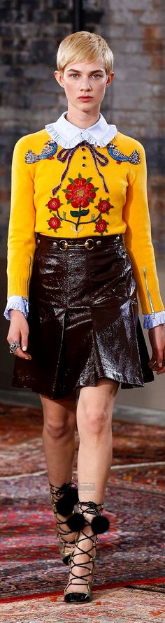 Gucci Pre Spring 2016 collection
