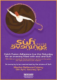 Sufi Evenings at Mocha, Defence Colony (Delhi)