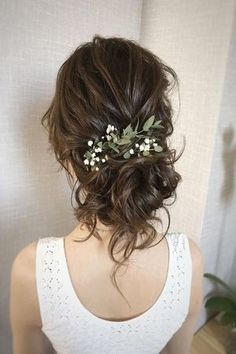 Stunning Wedding Hairstyles Ideas in Just like treding wedding decor, wedding hairstyles also change with each passing year. frisuren 38 Gorgeous Wedding Hairstyles That Inspire Wedding Hairstyles For Long Hair, Hair Comb Wedding, Wedding Hair Pieces, Wedding Hair And Makeup, Wedding Beauty, Hair Makeup, Messy Wedding Updo, Bridal Hair Updo Loose, Romantic Bridal Hair
