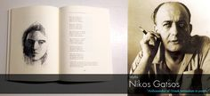 Nikos Gatsos is the ambassador of Greek surrealism in poetry, a lyricist and translator of theatrical plays. He was born in 1911 in Asea inArcadia, where he finished primary school. School Of Philosophy, Primary School, Athens, Surrealism, Plays, Greek, Poetry, University, Art