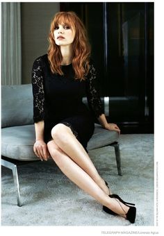 jessica chastain 2015 sexy | Jessica Chastain is 'Red Hot' in Moody Photo Shoot for Telegraph ...