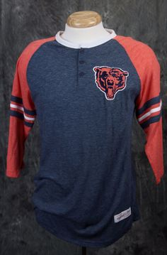 Chicago Bears Mitchell & Ness Assistant Coach Henley T-shirt