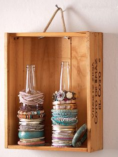 Decorreciclaje: Cajas de vino – Visioninteriorista