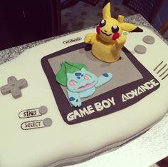 Gameboy cake
