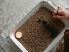 Meditation for Children : Make a Miniature Zen Garden