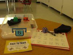 First Grade Garden: Math Stations - Set 1