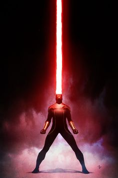 Artwork for cover of X-Men Origins: Cyclops #1. January, 2010. Art by Adi Granov.