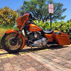 Harley Bagger, Bagger Motorcycle, Harley Bikes, Motorcycle Style, Custom Baggers, Custom Harleys, Custom Bikes, Harley Davidson Street Glide, Harley Davidson Motorcycles