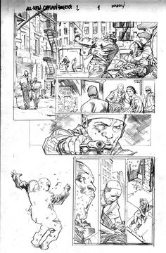 what an amazing page Stuart Immonen All-New Captain America art<br /> Comic Book Layout, Comic Book Pages, Comic Book Artists, Comic Artist, Comic Books Art, Comic Manga, Manga Comics, Storyboard, Captain America Art