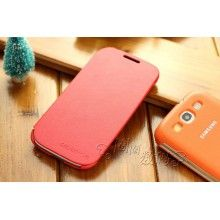 Samsung Galaxy S3 Flip Cover Case - Red