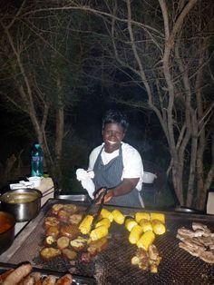 Tradiitional South African Braai - [BBQ] on safari