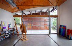 Modern Home Garage Studio Design