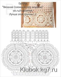 ergahandmade: Crochet Dress + Diagrams