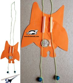 Paper Climbing toy