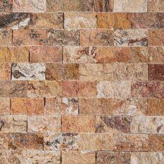 Mozaic Travertin Scabas Scapitat 2.5 x 5 x 1 cm