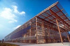 Akademie Mont-Cenis, Herne, Germny, commissioned 1999; Facade - transaparent PV facade; 1000kWp; Herne, NRW; Scheuten; F.H. Jourda & G. Perraudin, Paris und HHS-Planer + Architekten, Kassel
