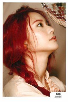 fx Krystal Red Hair Trintas