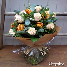 """52 Likes, 10 Comments - The Flower Shop in Watford (@watford_flowers) on Instagram: """"A winter bouquet for our website. Inspired by and named after my daughter Clementine. #watford…"""""""